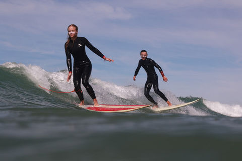 Surfen im Familien Surfcamp in Spanien